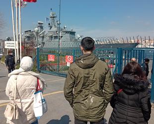 Türk ve İspanyol savaş gemileri Sarayburnu'na demir attı