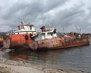 Körfez'deki hayalet gemiler tehlike saçıyor