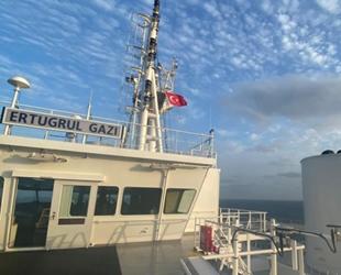 Türkiye'nin yeni FSRU gemisi Ertuğrul Gazi, bu ay içinde Türkiye'de olacak