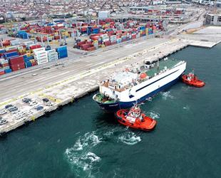 OYAK Otomotiv Odaklı Ro-Ro Limanı'na ilk sefer başarıyla gerçekleştirildi