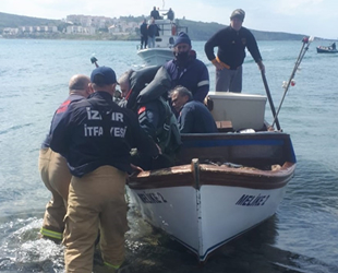 Foça'da KT-1 tipi uçak denize düştü: 2 pilot kurtarıldı