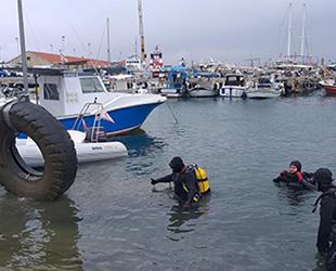 Gazimağusa Limanı'nda dip temizliği gerçekleştirildi