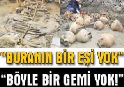 Marmaray'la ortaya çıkan tarih