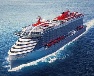 Resilient Lady kruvaziyer gemisi, ilk seferine Akdeniz'den başlayacak