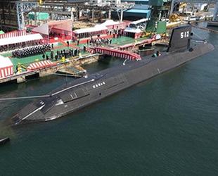 Japonya'nın yeni denizaltısı JS Toryu, göreve başladı