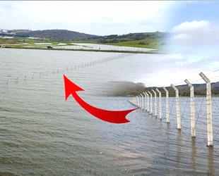 Çevreciler, Ömerli Barajı'na çekilen tellere tepki gösterdi