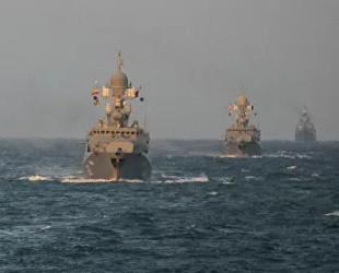 Rusya'nın Hazar Filosu'na ait gemiler Karadeniz'e girdi