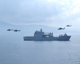 Çıkarma gemileriyle Harekâta Hazırlık Eğitimleri gerçekleştirildi