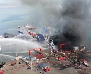 ZHONG HUA FU QIANG isimli arabalı feribotta patlama meydana geldi