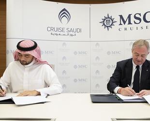 MSC Cruises, Cruise Saudi ile anlaşma imzaladı