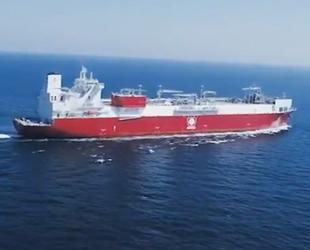 Türkiye'nin yeni FSRU gemisi Ertuğrul Gazi, Hatay açıklarına ulaştı