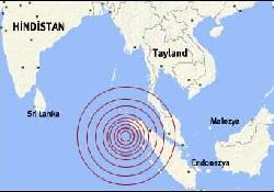 Deprem Asya'nın haritasını değiştirdi