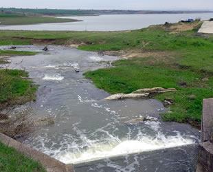 Kuruyan Altınyazı Barajı'na Meriç Nehri'nden su verildi