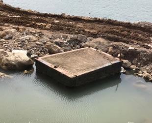 Atatürk'ün ayak bastığı iskele sahil projesine yenik düştü