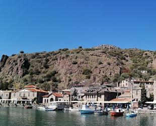 Assos Antik Liman'daki işletmeler 500 gün hizmete kapatıldı
