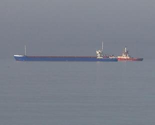 İstanbul Boğazı'nda arızalanan Croatia isimli gemi, Ahırkapı'ya çekildi