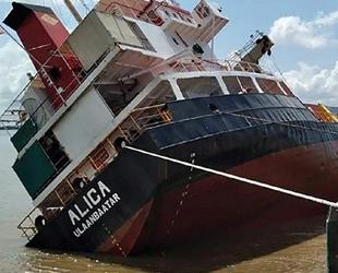 Vietnam'da ALICA isimli gemi, alabora oldu