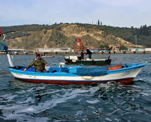 Kocaeli'den ava çıkan 6 tekne, kesilen ceza ile kıyıya döndü