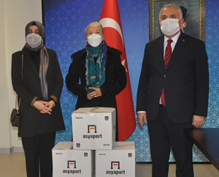 Asyaport ve Medlog, Tekirdağ Valiliği ile Ergene Belediyesi'ne erzak desteğinde bulundu