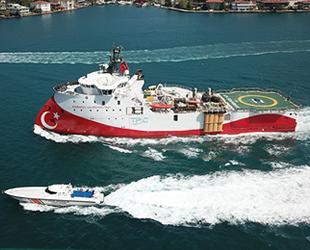 Barbaros Hayrettin Paşa sismik araştırma gemisi, İstanbul Boğazı'ndan geçti