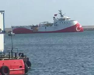 Barbaros Hayreddin Paşa sismik araştırma gemisi, Filyos Limanı'na ulaştı
