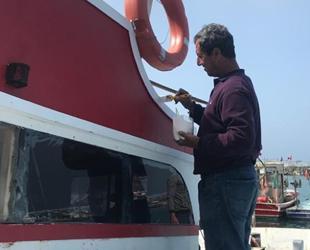 Balıkçı teknelerinin yıllık bakımları yapılıyor