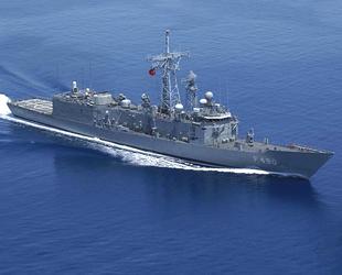 Libya açıklarında 123 düzensiz göçmeni Türk savaş gemisi kurtardı