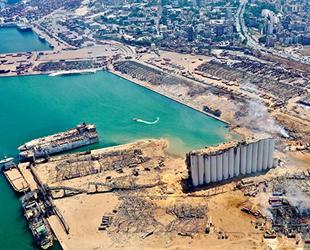 Beyrut Limanı'ndaki tehlikeli maddeler tahliye edildi