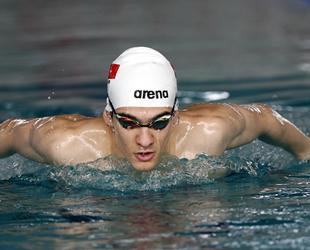 Milli Yüzücü Yiğit Aslan, Olimpiyat hedefi için kulaç atıyor