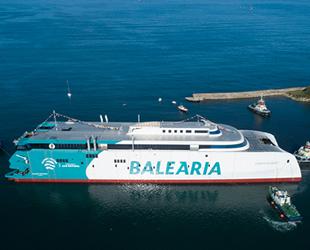 Dünyanın LNG ile çalışan ilk Ropax feribotu Eleanor Roosevelt, göreve başladı