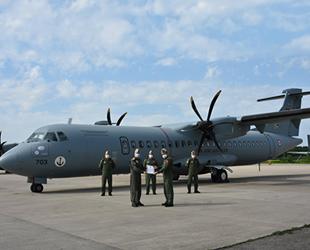 MELTEM-3 Projesi'nin 3'üncü uçağı da Deniz Kuvvetleri'ne teslim edildi