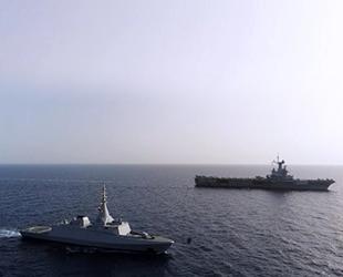 Mısır ve Fransa, Kızıldeniz'de ortak askeri tatbikat gerçekleştirdi