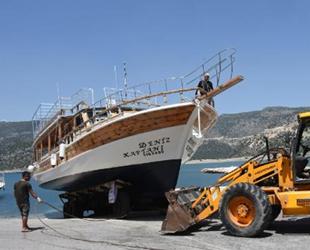 Yatlar, Akdeniz'in mavi sularıyla buluştu