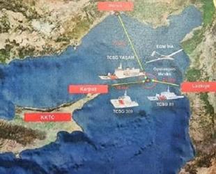 Akdeniz'de bir gemide 1.5 ton uyuşturucu ele geçirildi