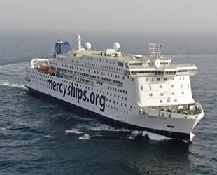 Global Mercy isimli gemi, deniz denemelerini tamamladı