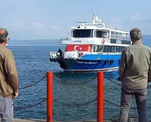 Hereke'den Ereğli'ye deniz ulaşımı başladı