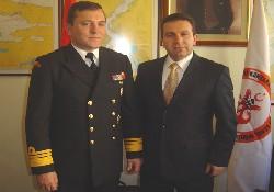 Tümamiral Erenoğlu KEGKİ'yi ziyaret etti