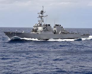 ABD savaş gemisi, Çin karasularını ihlal etti