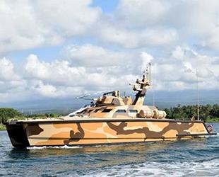Endonezya, yeni deniz aracı tank botu test ediyor