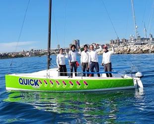 Boğaz Kupası Yat Yarışları birincisi Quick Sigorta-Nimbus oldu