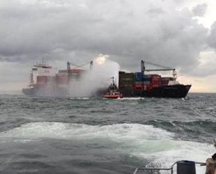 X-Press Pearl isimli gemide yangın çıktı