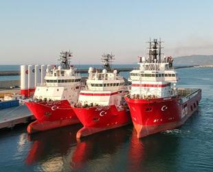 Türkiye Petrolleri gemilerine 'Kıbrıs Şehitleri'nin adı verildi