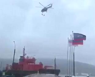 Helikopterden gemiye inmeye çalışan 2 asker düşerek hayatını kaybetti