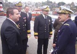 Fransız Komutan VTS'i ziyaret etti