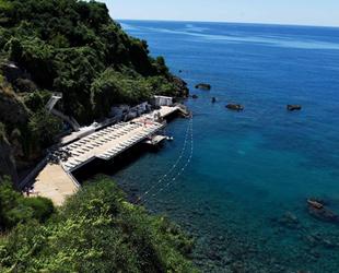 Falez plajlarının yeni sezon hazırlıkları tamamladı