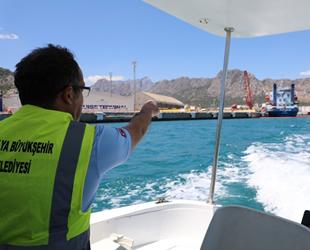 Antalya'da denizi kirleten gemiye 1 milyon 566 bin lira ceza kesildi