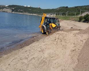 İzmit Körfezi'ndeki plajlar yaz sezonuna hazırlanıyor