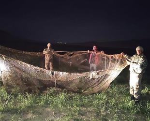 Van Gölü'nde 16 ton inci kefali ele geçirildi