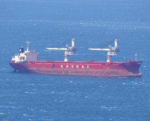 Çanakkale Boğazı'nda arızalanan gemide çalışmalar sürüyor