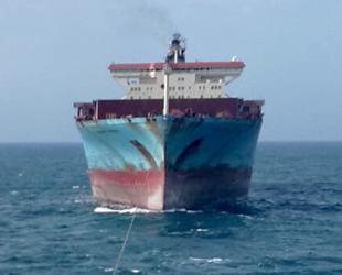 MAERSK KYRENIA isimli konteyner gemisi, Karadeniz'de arızalandı